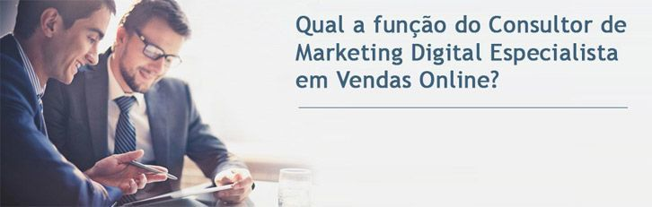 Consultor Marketing Digital função